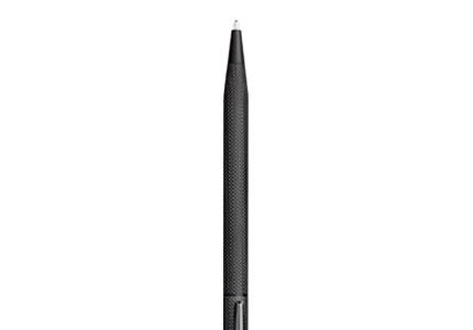 CENTURYセンチュリーブラッシュトブラックボールペン