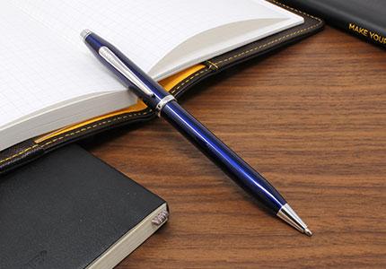 CENTURY2センチュリーⅡトランスルーセントブルーラッカーボールペン