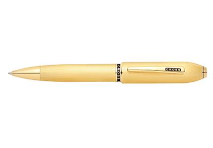 PEERLESS 125ピアレス12523金ゴールドプレートボールペン