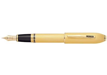 PEERLESS 125ピアレス12523金ゴールドプレート万年筆