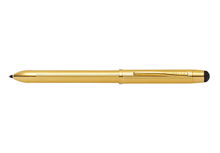 PRECIOUS TECH3+テックスリー プラス23金ゴールドプレート複合ペン